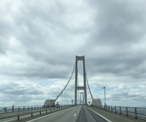 Stora Belt Brücke