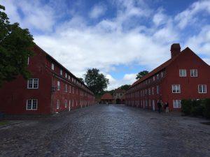 Wohnhäuser im Kastell