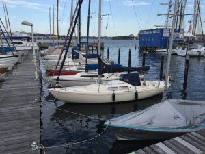 H-Boot vs. Marieholm 26 - irgendwie sehen Sie sich sehr ähnlich.