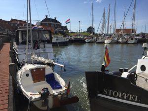 Liegeplatz mit super Blick auf das Hafenkino