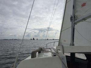 Regattafeld auf dem Heegermeer